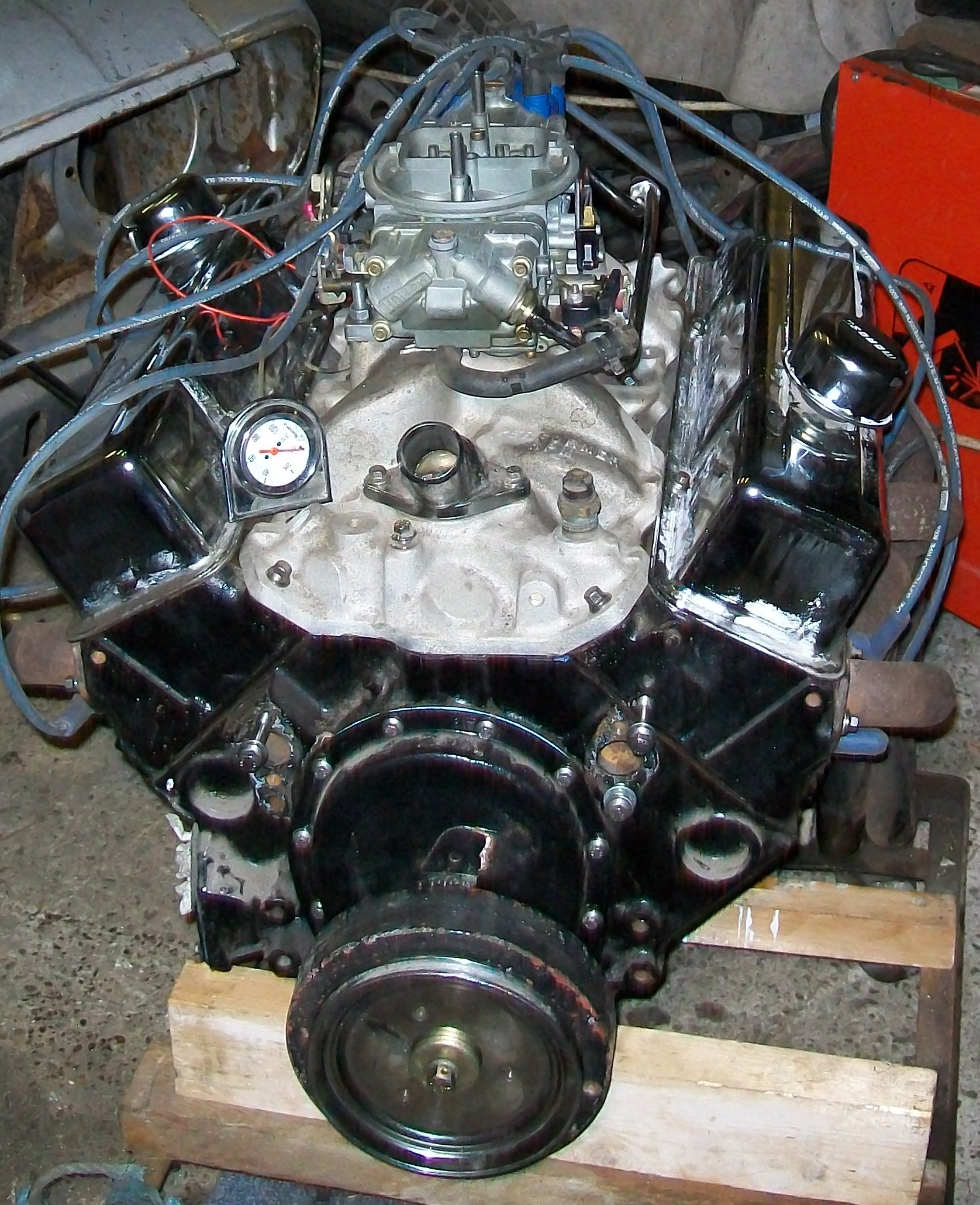 350 Chevy Engine In Jaguar: Chevrolet SBC Gen1 350ci V8 Engine
