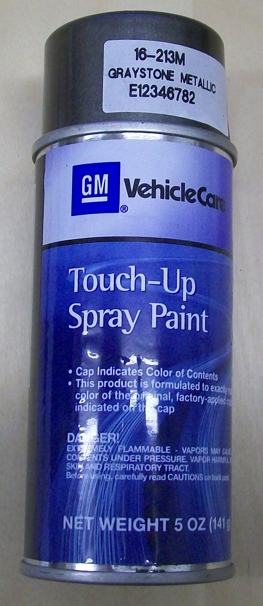 E12346782 genuine GM Graystone metallic clearcoat touch paint – Parts for GM, Fiat, Alfa Romeo ...
